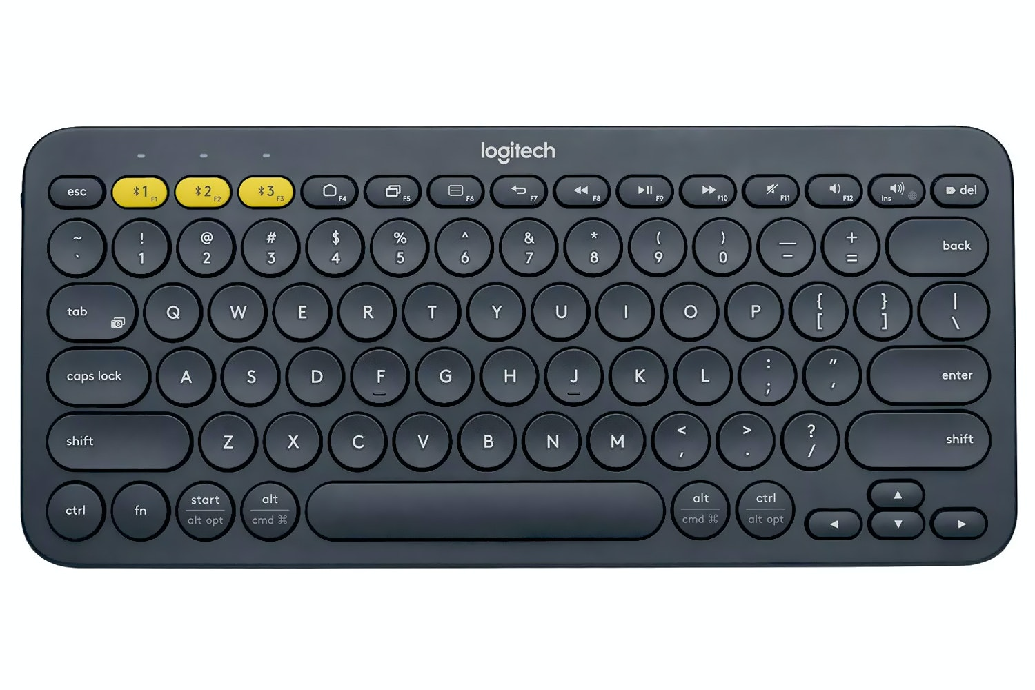 Logitech K380 Bluetooth Keyboard | Grey