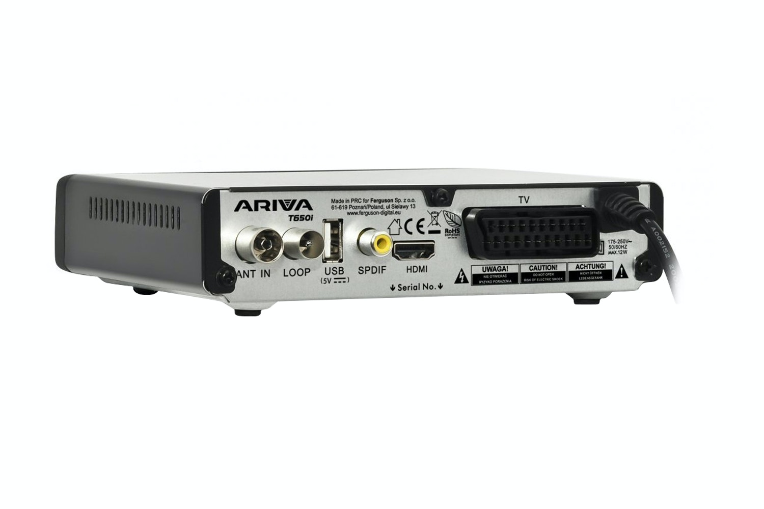 Ferguson Ariva  Digital Receiver | T650i
