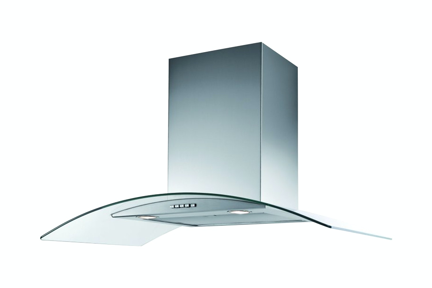 Belling 90cm Curved Glass Hood | CHIM903SS