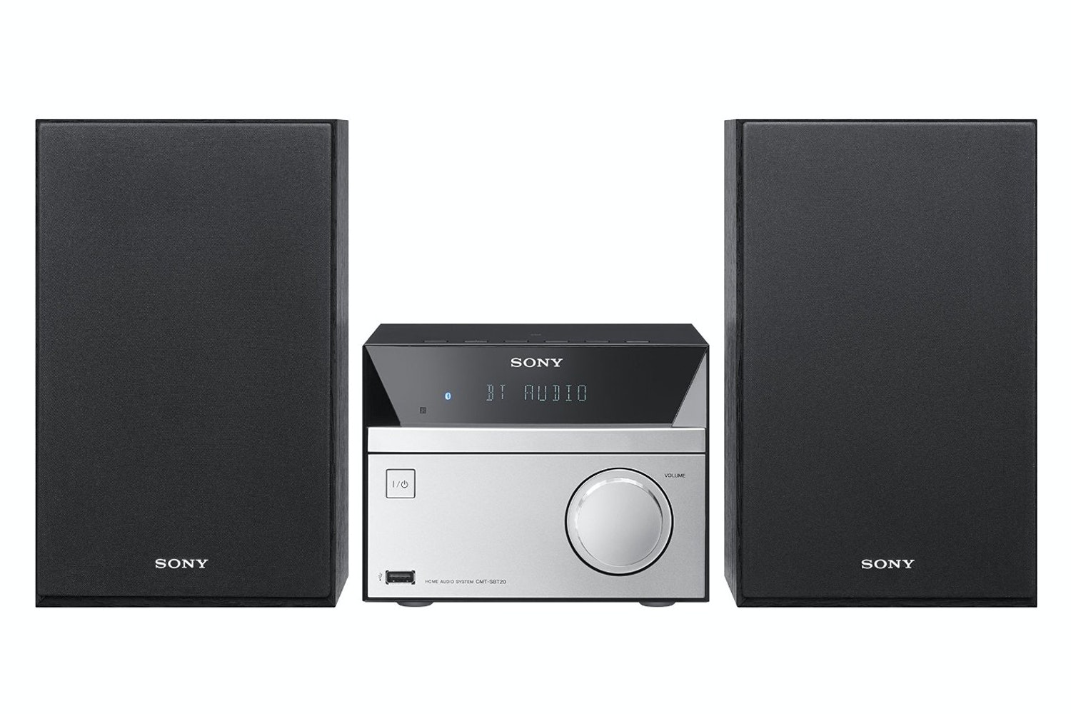 Sony CMT-SBT20 Micro HI-FI System with Bluetooth | Black