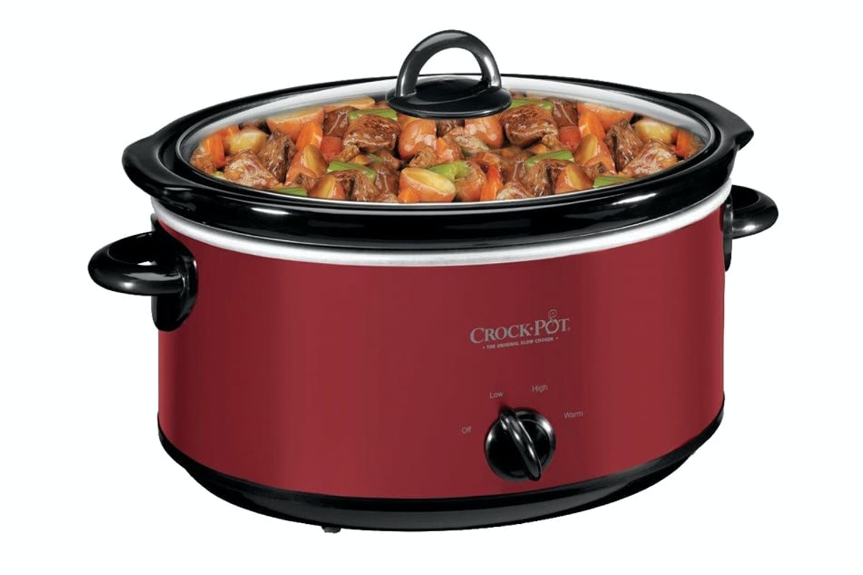 Crock Pot 5.7L Slow Cooker | Red