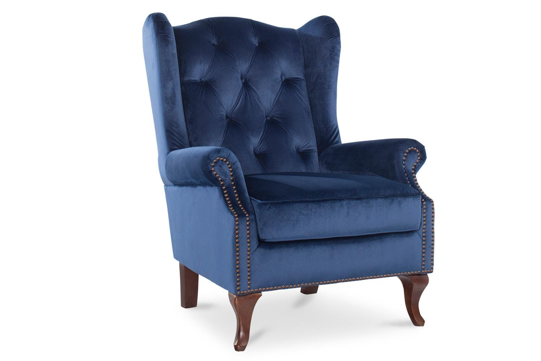 Harriot accent chair royal blue ireland