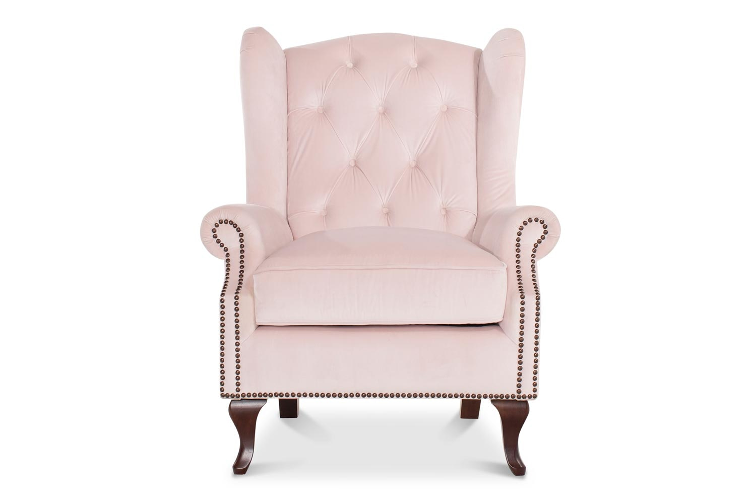 Harriot Accent Chair | Blush
