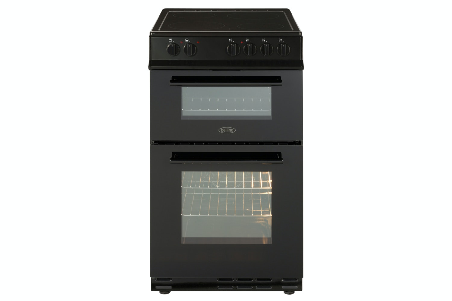 Belling 50cm Double Oven Electric Cooker | FS50EDOFCBK