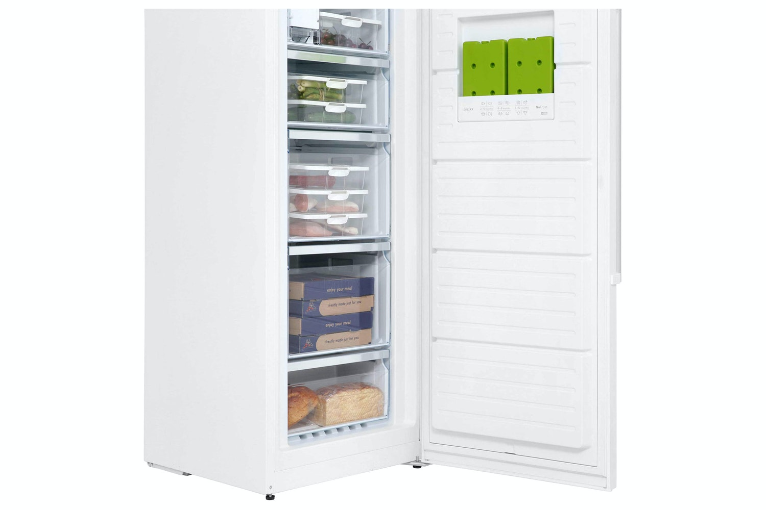 Bosch 237L Series 6 Freestanding Upright Freezer | GSN36AW31G