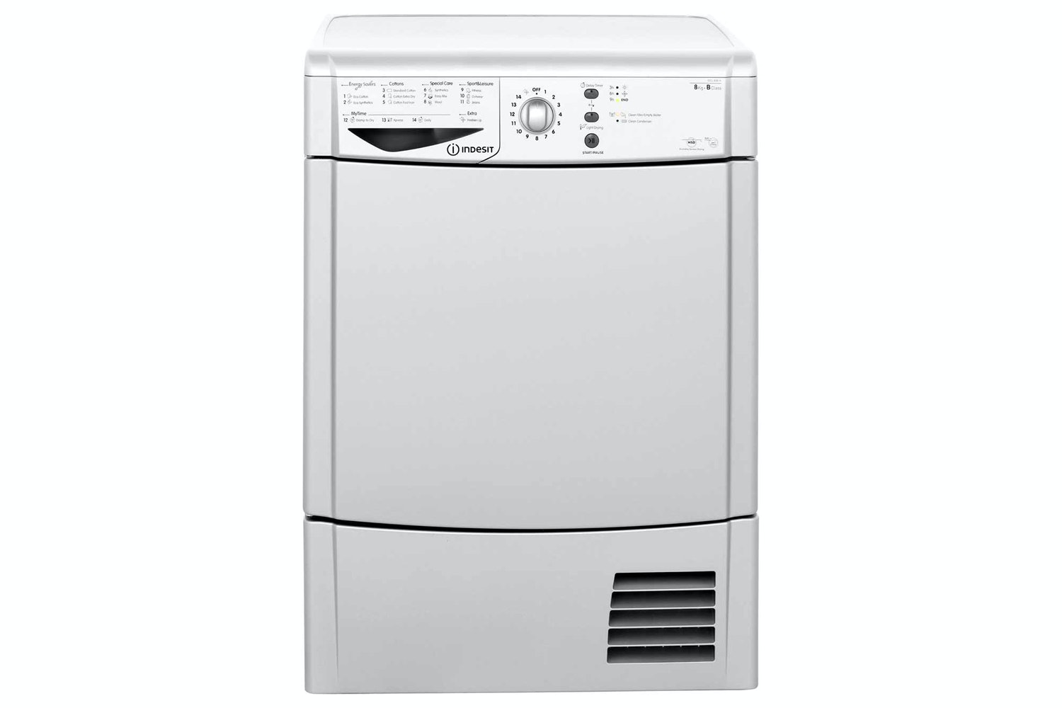 Indesit 8Kg Condenser Dryer | IDCL85BHS
