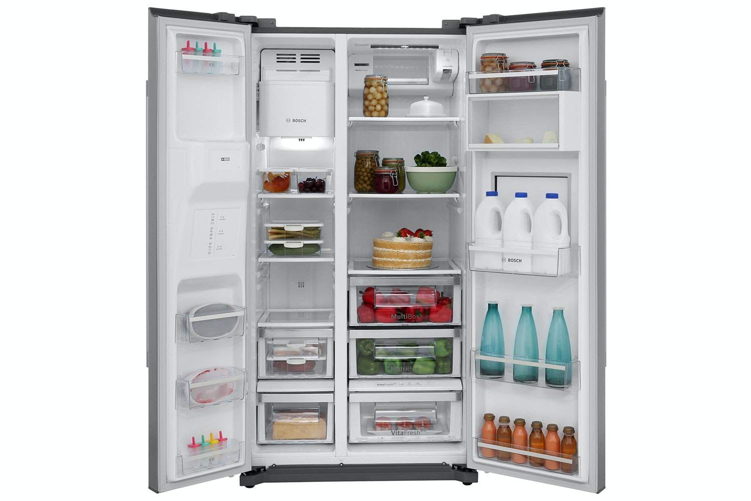 Bosch Series 6 American Style Fridge Freezer | KAG90AI20G