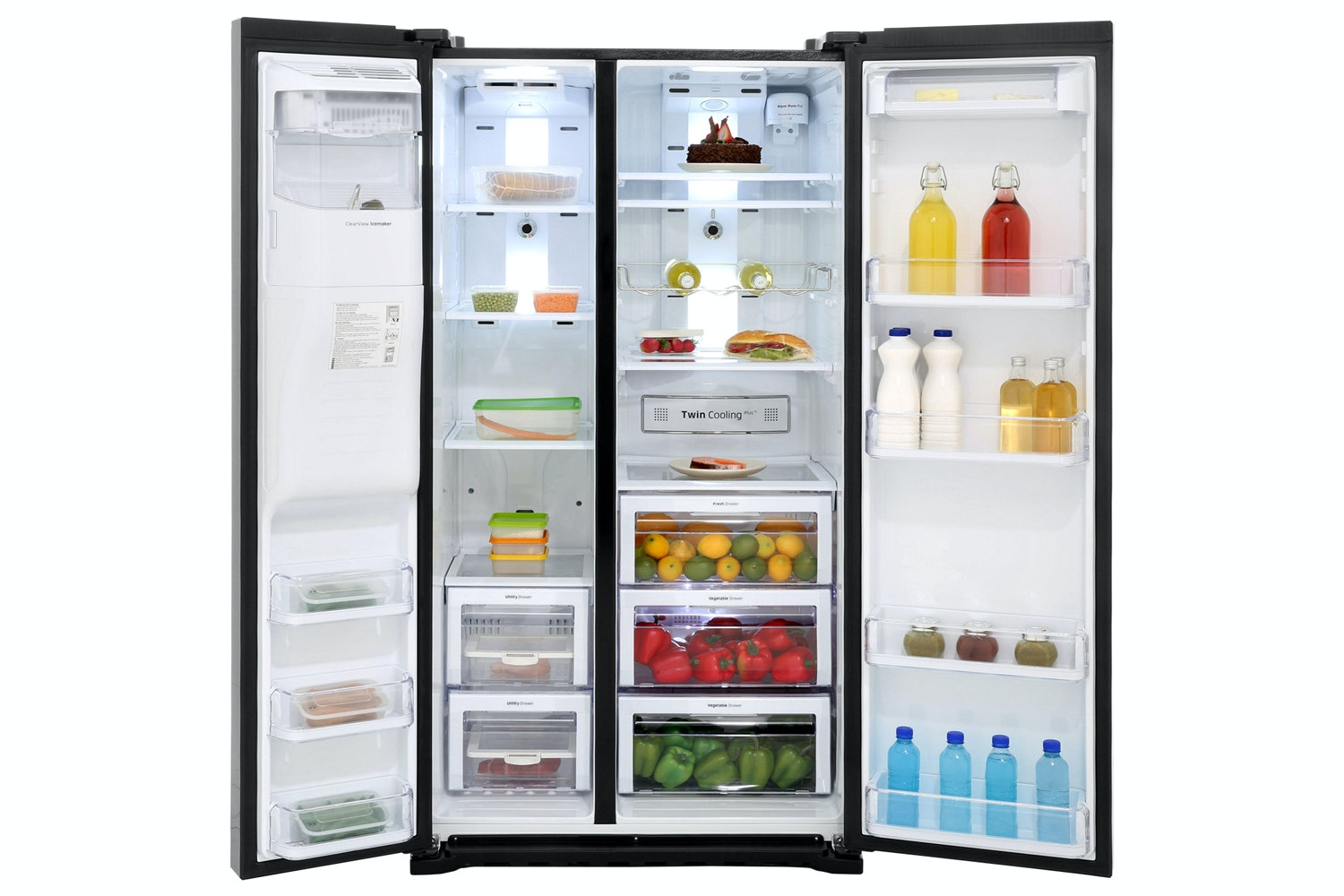 Samsung Side by Side Fridge Freezer | RSG5MUBP1/XEU