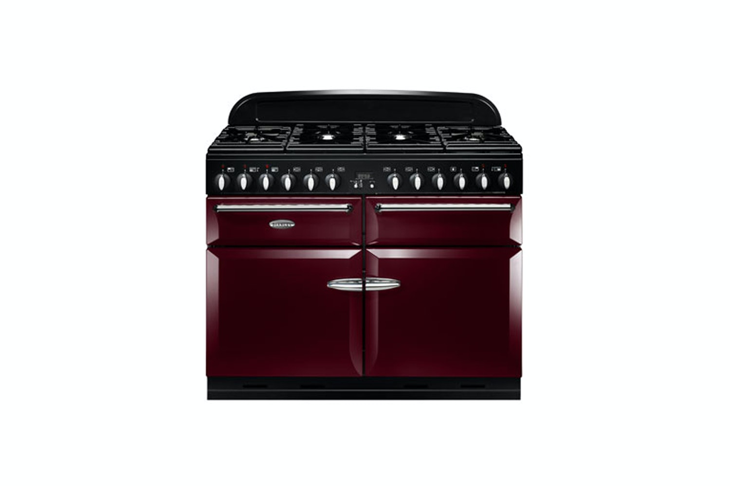 Stanley Supreme Deluxe 110cm Dual Fuel Range Cooker | SSUP110DFFCY/C | Cranberry