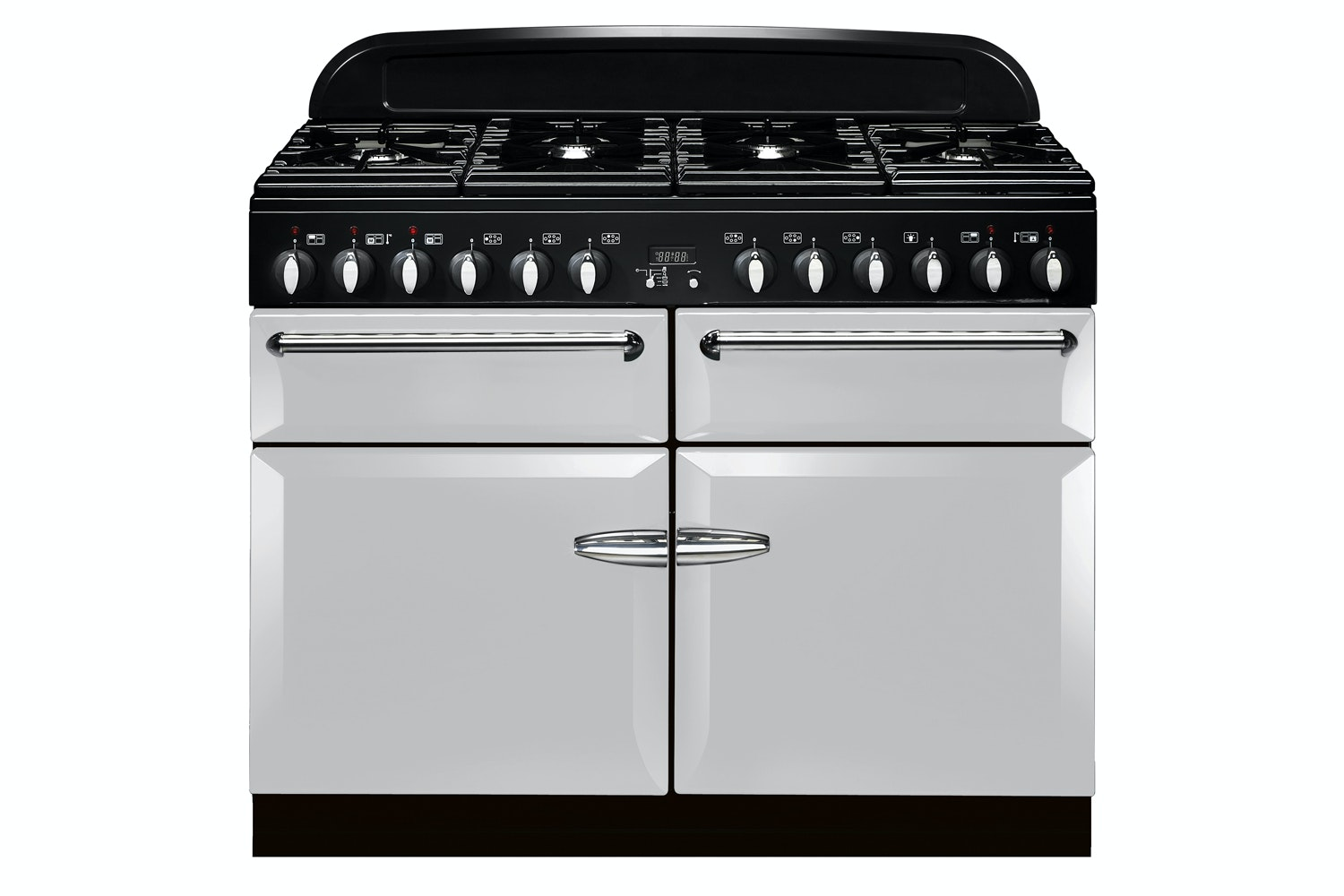 Stanley Supreme Deluxe 110cm Dual Fuel Range Cooker | SSUP110DFFPA/C | Pearl Ashes