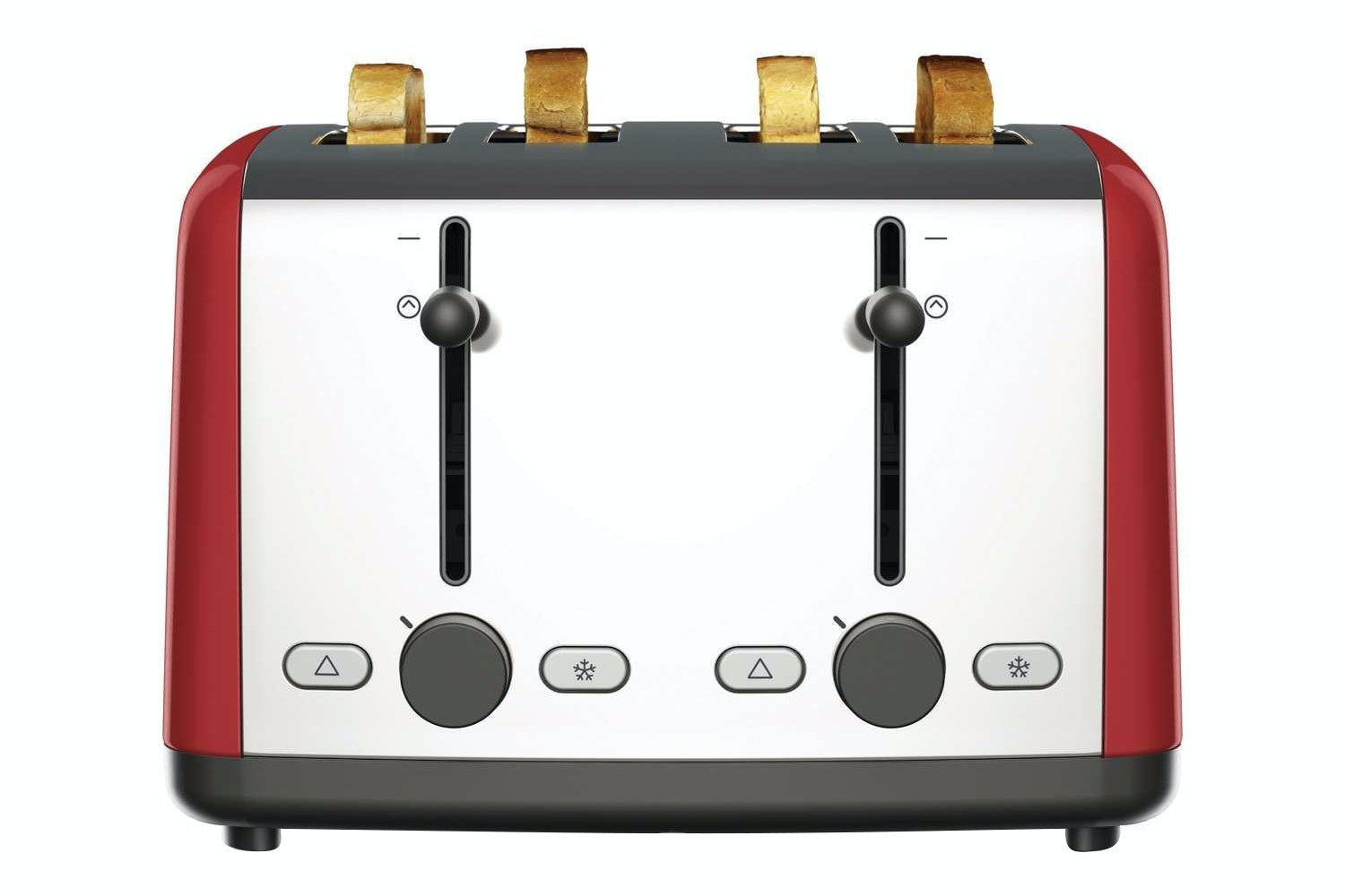 Kenwood Scene 4 Slice Toaster | Red