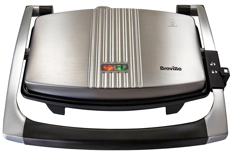 Breville 3 Slice Sandwich & Panini Maker   VST025