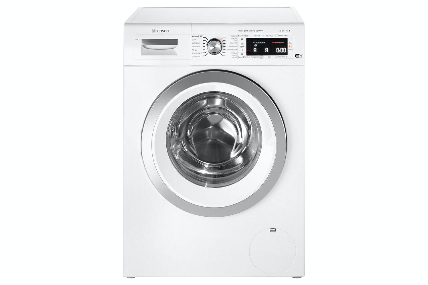 bosch 9kg idos washing machine wawh8660gb ireland. Black Bedroom Furniture Sets. Home Design Ideas