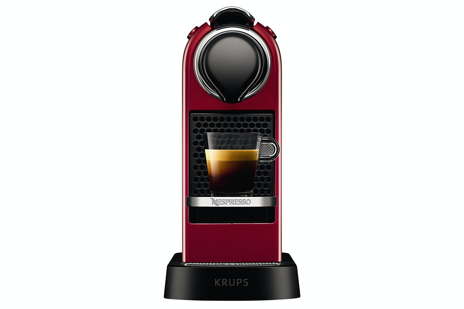 Krups Citiz Cherry Red Coffee Machine | XN740540