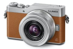 Panasonic GX800 & 12-32mm Lens Kit | Silver & Tan