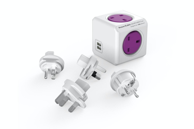 PowerCube Rewireable USB Travel Adapter