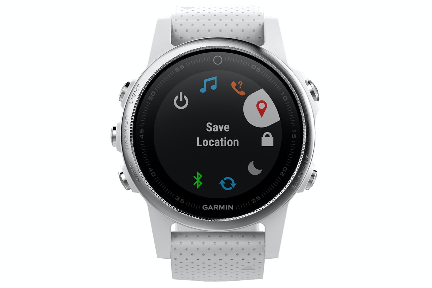Garmin fenix 5s | White & Carrara White Band