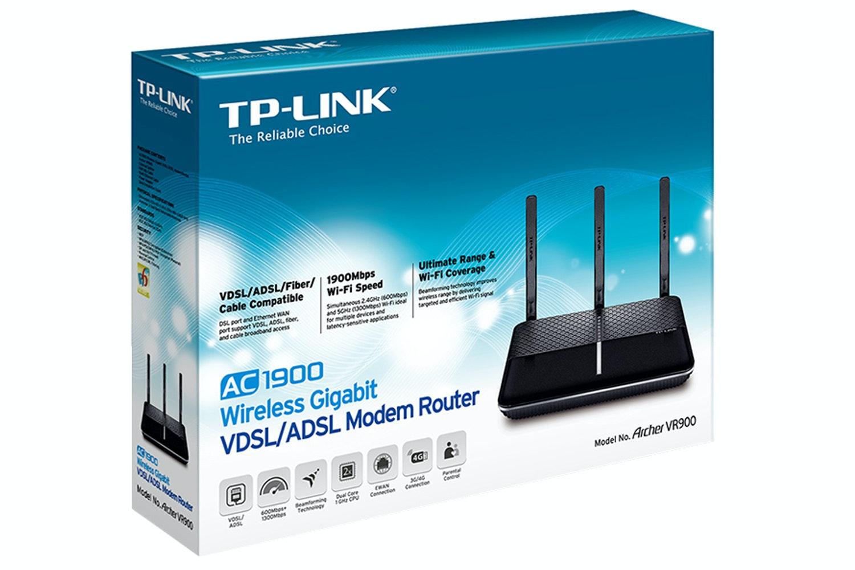 TP-LINK AC1900 VDSL2 Modem Router | Archer VR900