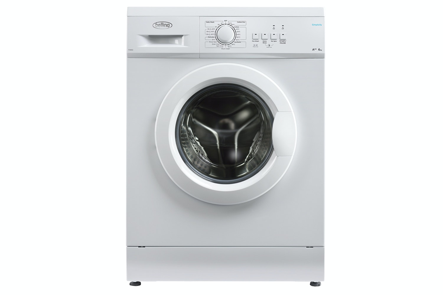 Belling 6kg Washing Machine | BFW612