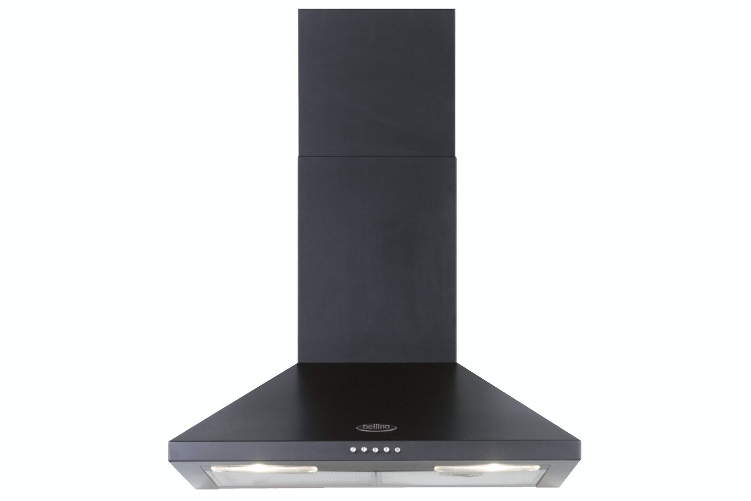 Belling 60cm Chimney Hood | CHIM600RBLK
