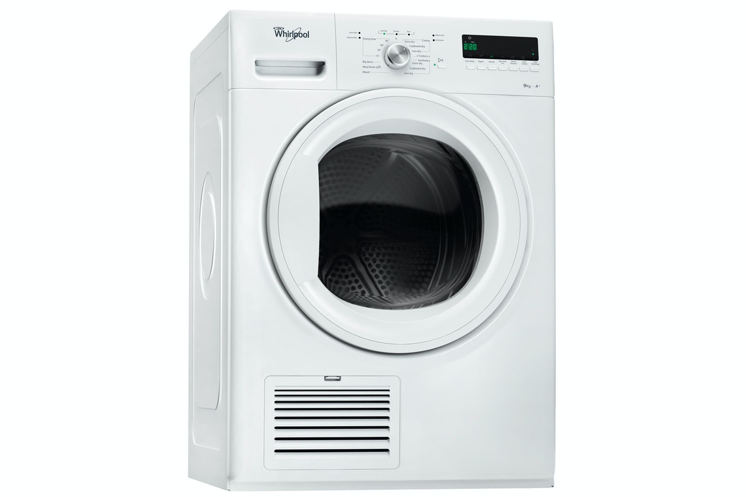 Whirlpool 9kg 6th Sense Condenser Dryer | DDLX90110