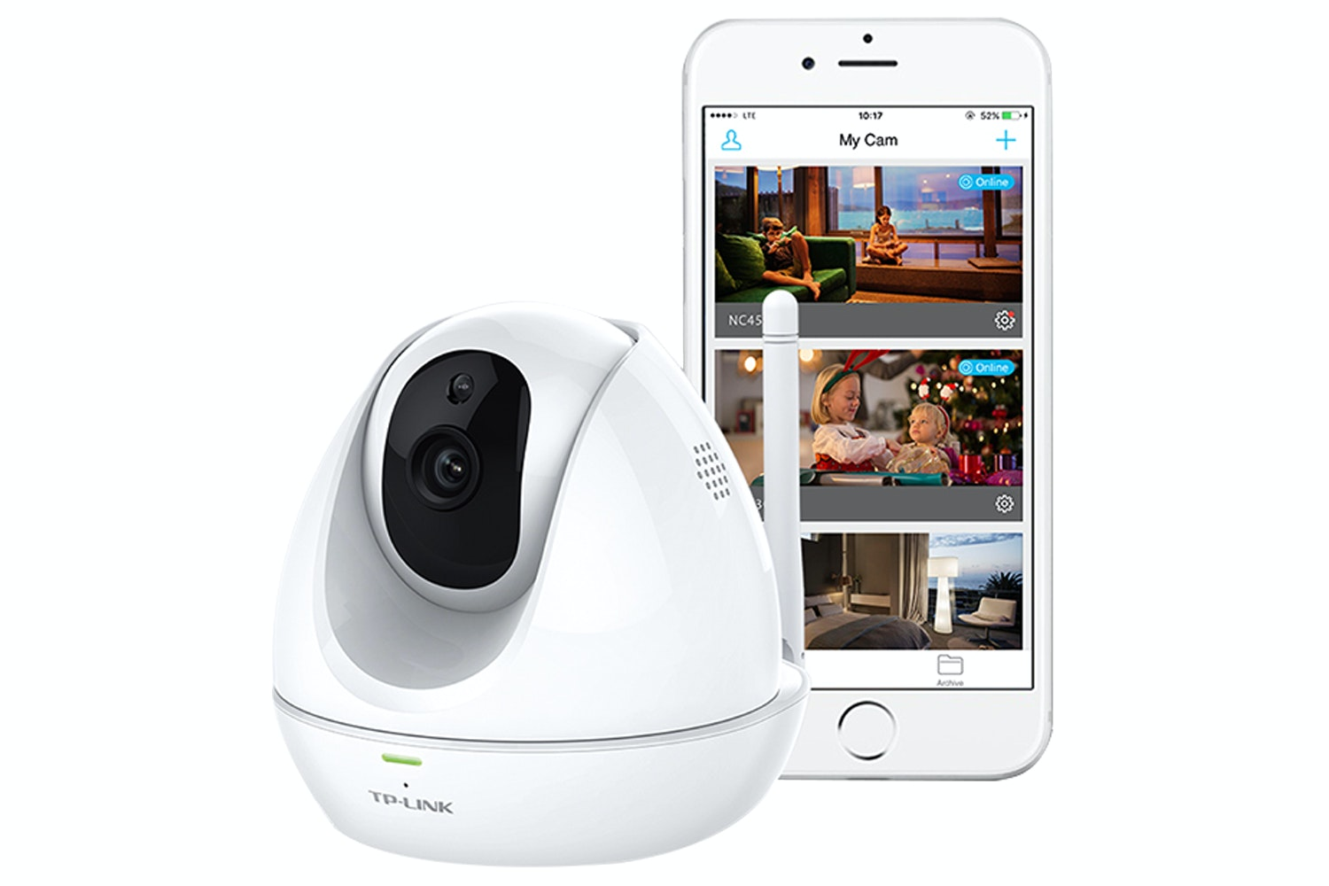 TP-LINK Wi-Fi HD Security Camera | NC450