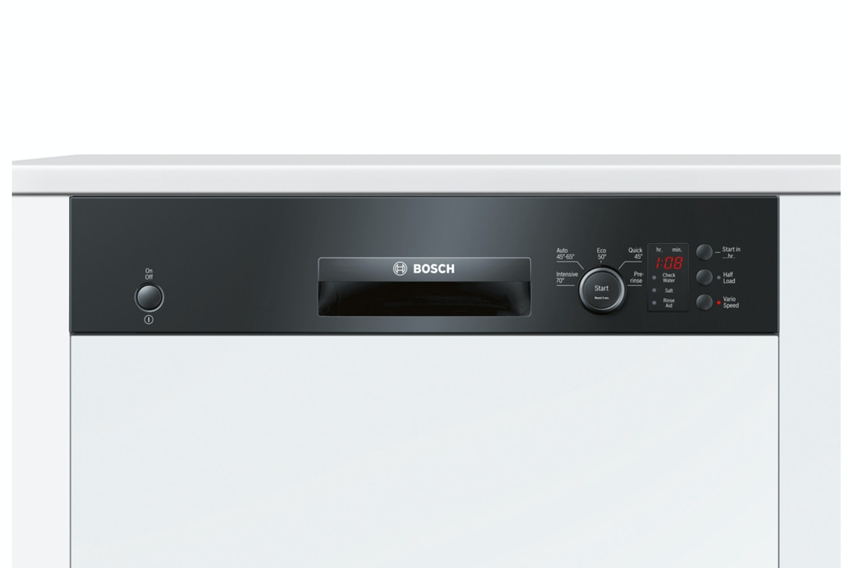Bosch Series 4 Semi Integrated Dishwasher | SMI50C16GB