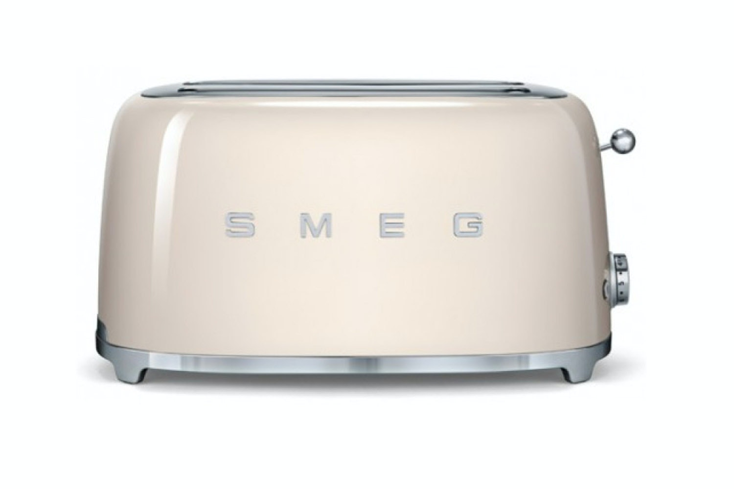 Smeg Retro 4 Slice Toaster | TSF02CRUK | Cream