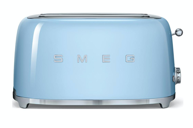 Smeg 4 Slice Toaster | Pastel Blue
