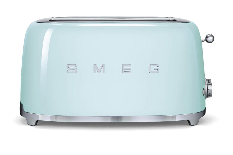 Smeg 4 Slice Toaster | Pastel Green