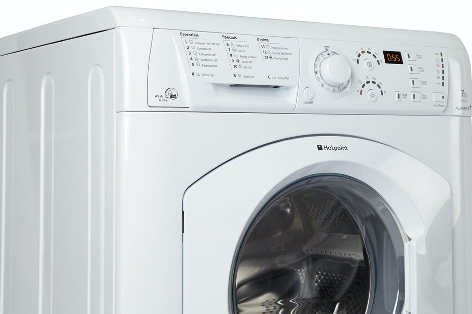 Hotpoint 7kg/5kg Washer Dryer | WDF740P