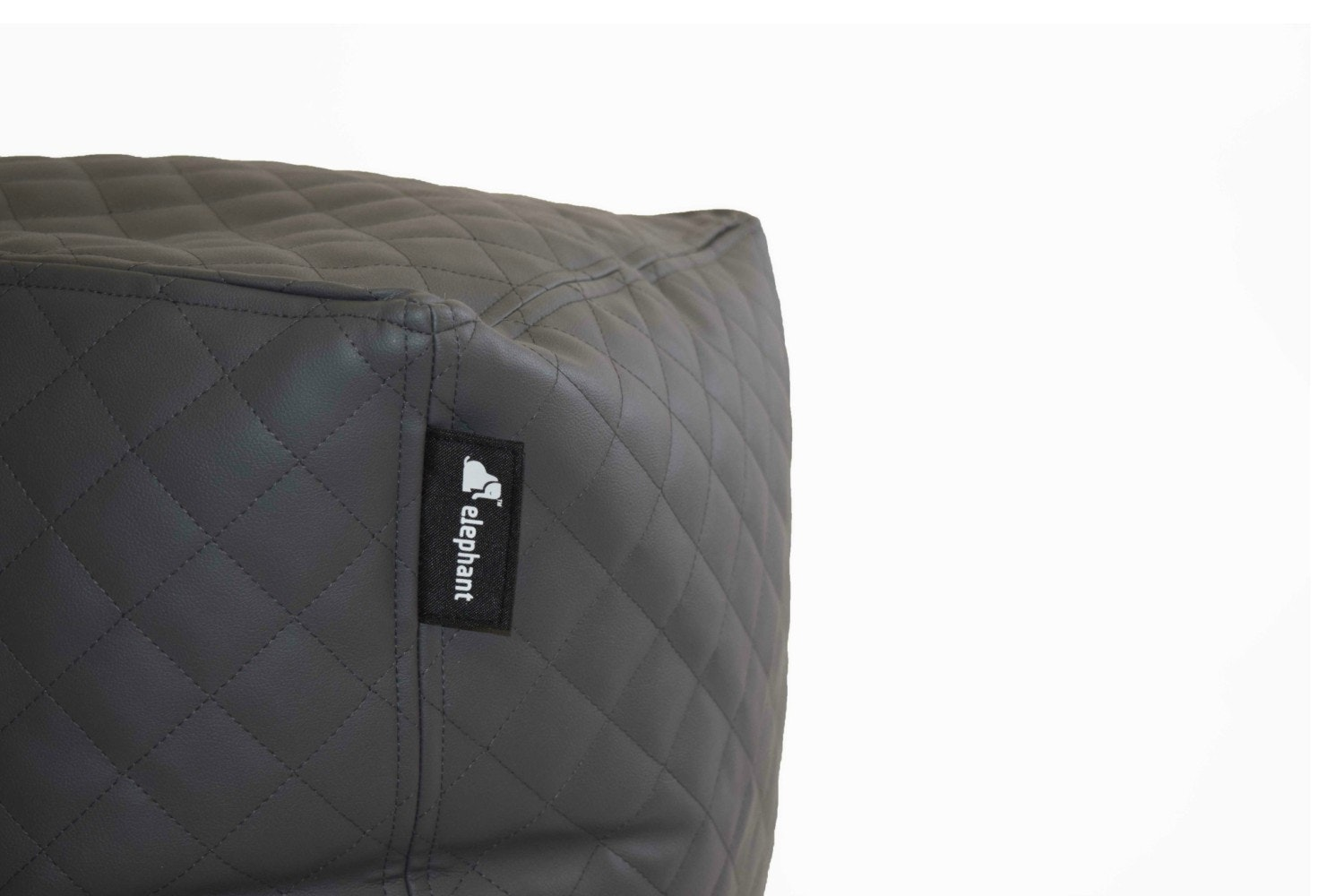 Elephant Cube Quilted | Grey