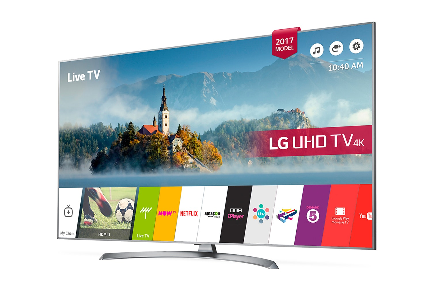 "LG 49"" 4K Ultra HD TV 