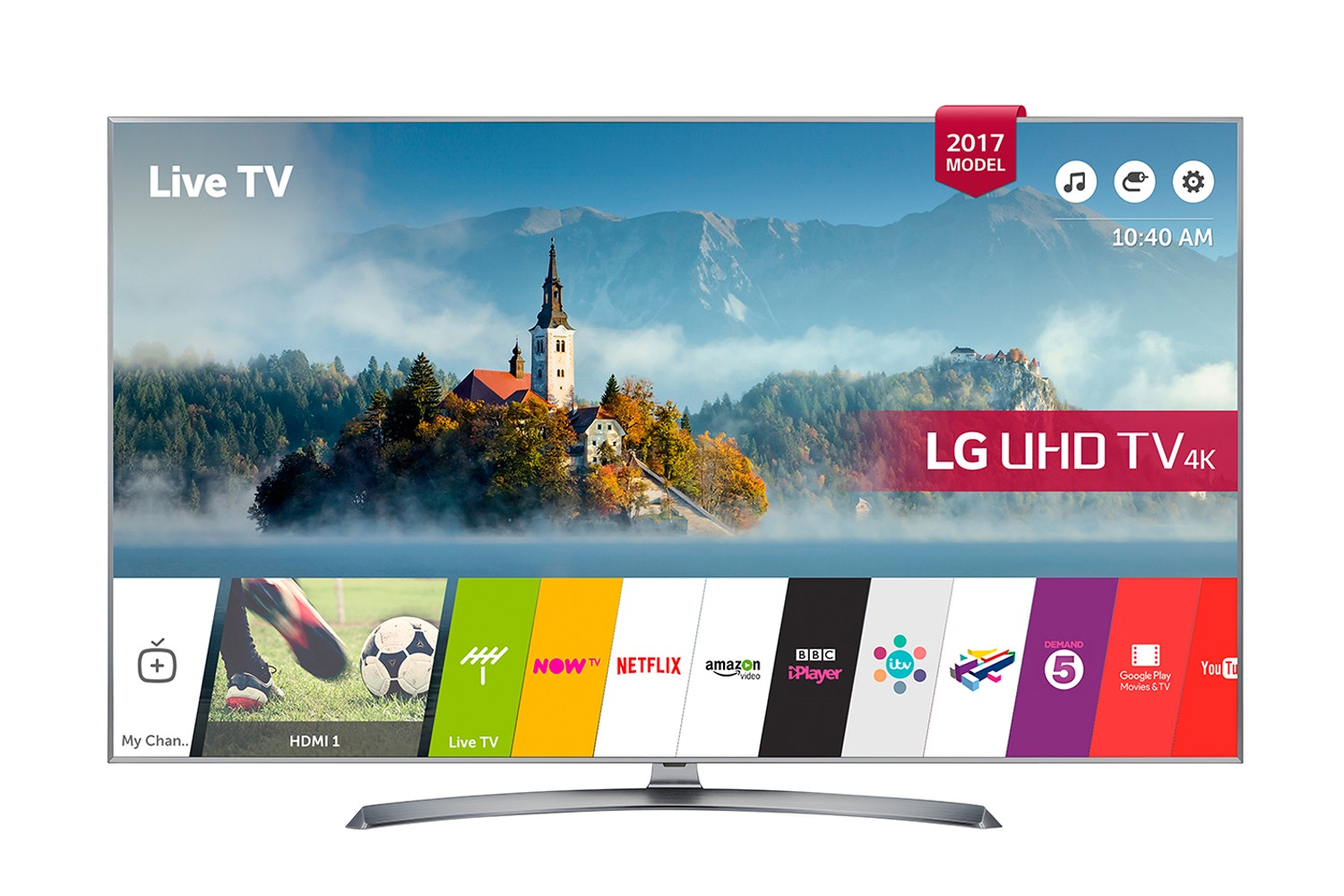 "LG 60"" 4K Ultra HD TV 
