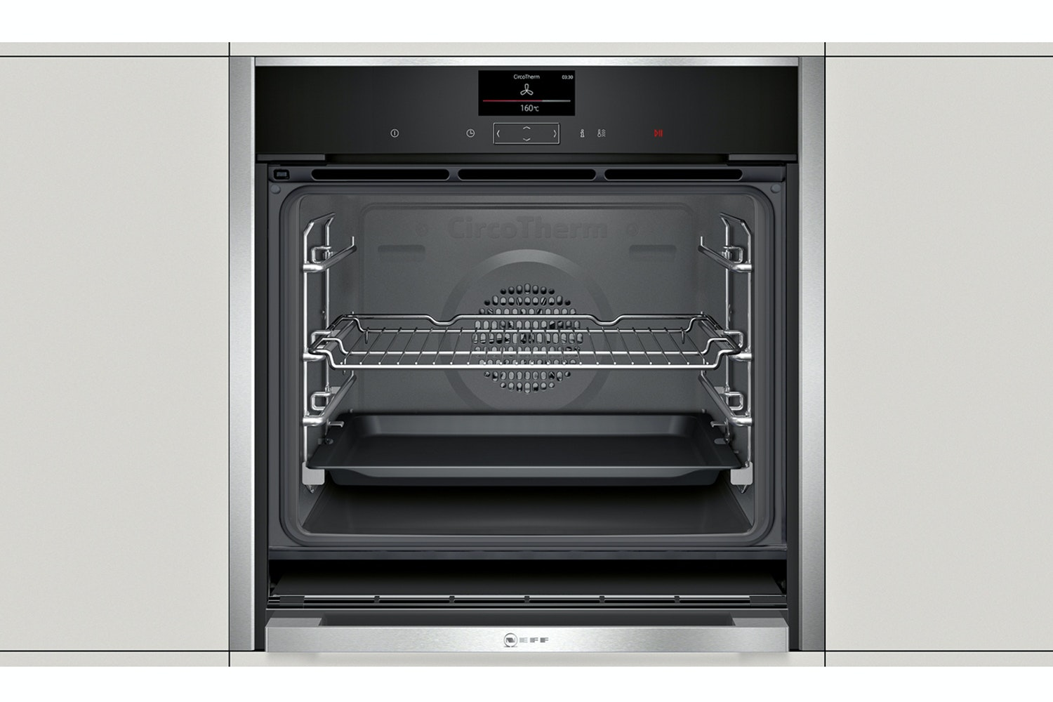 Neff Built In Single Oven | B47CS34N0B