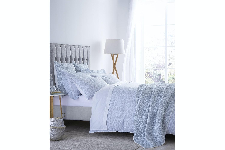 Delicate Cotton Print Bedspread