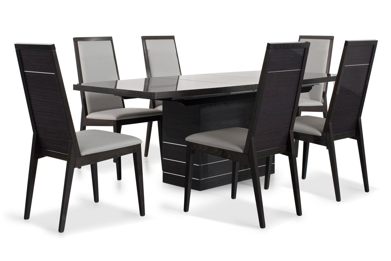 Versilia dining set with versilia chairs 7 piece ireland for 7 piece dining set with bench