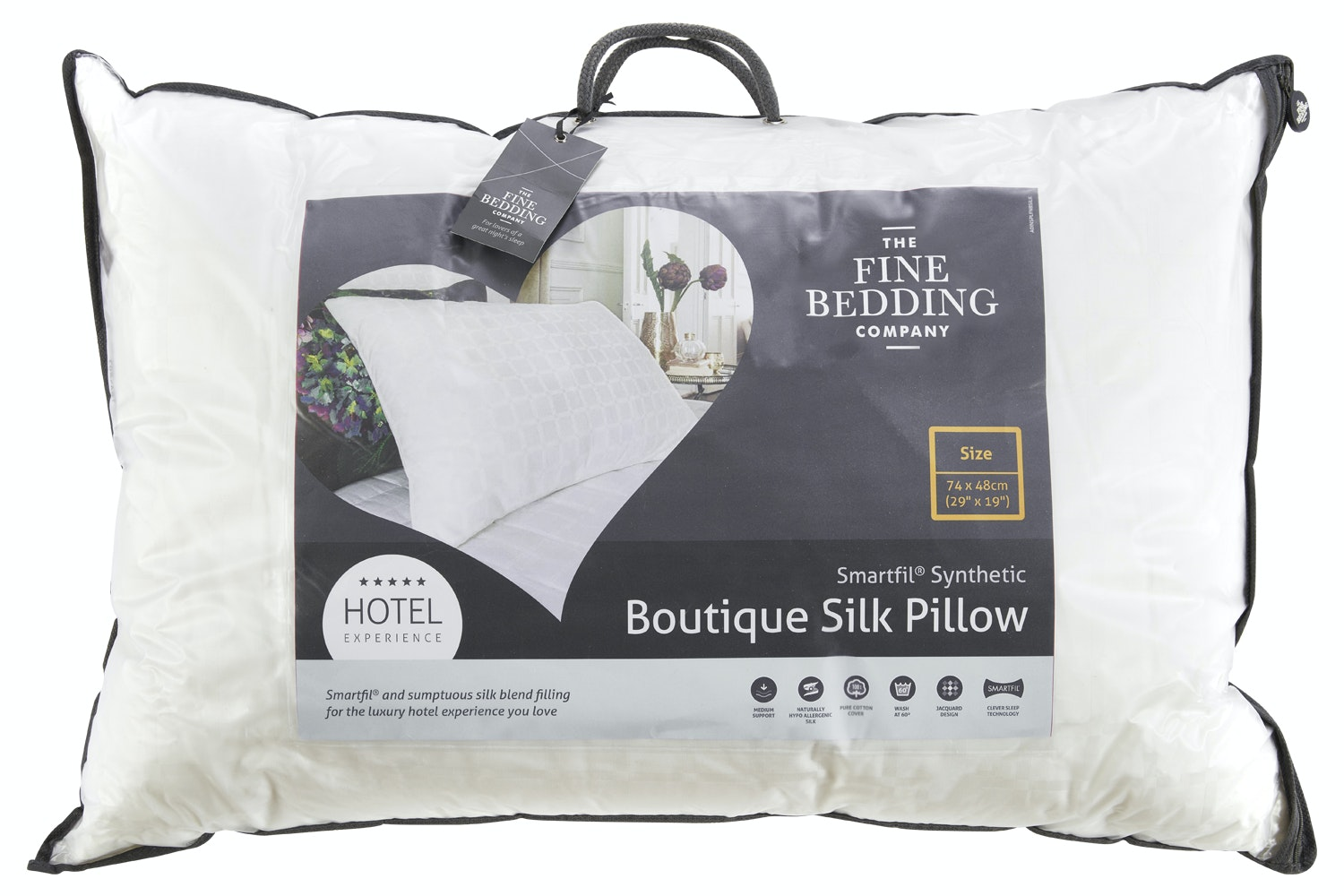 Boutique Silk Pillow