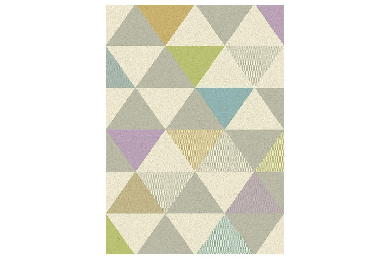 Focus Rug Triangles Multi Colour   160X230