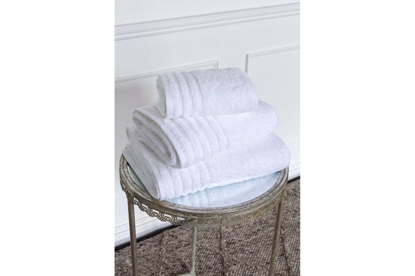 The Linen Room Towels Bath Sheet | White