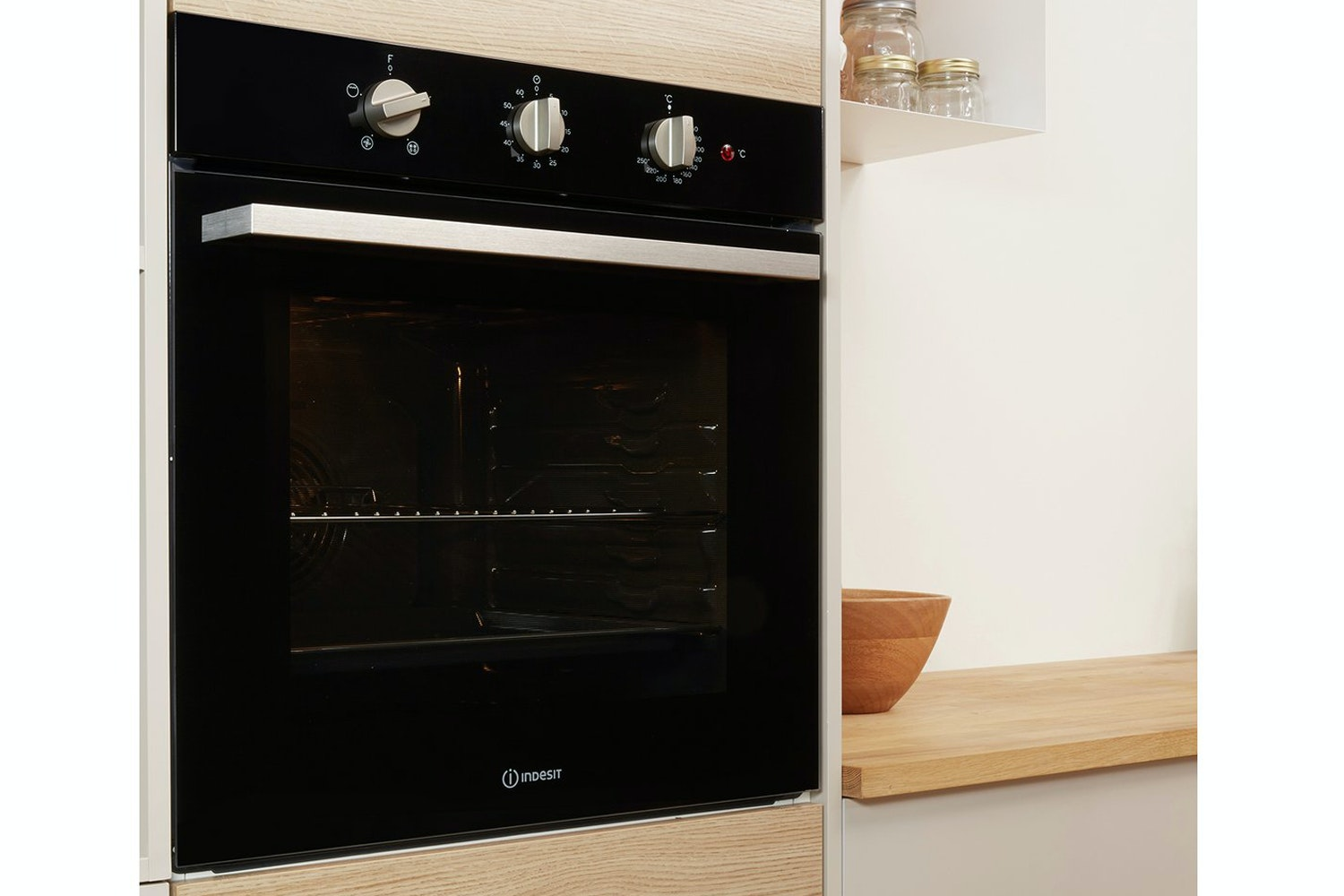 Indesit Electric Single Built-in Oven | IFW6330BL