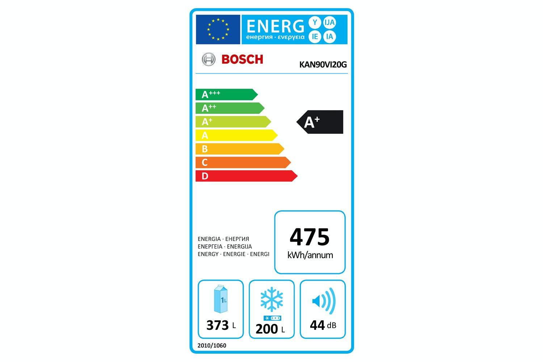 Bosch Series 4 American Fridge Freezer | KAN90VI20G