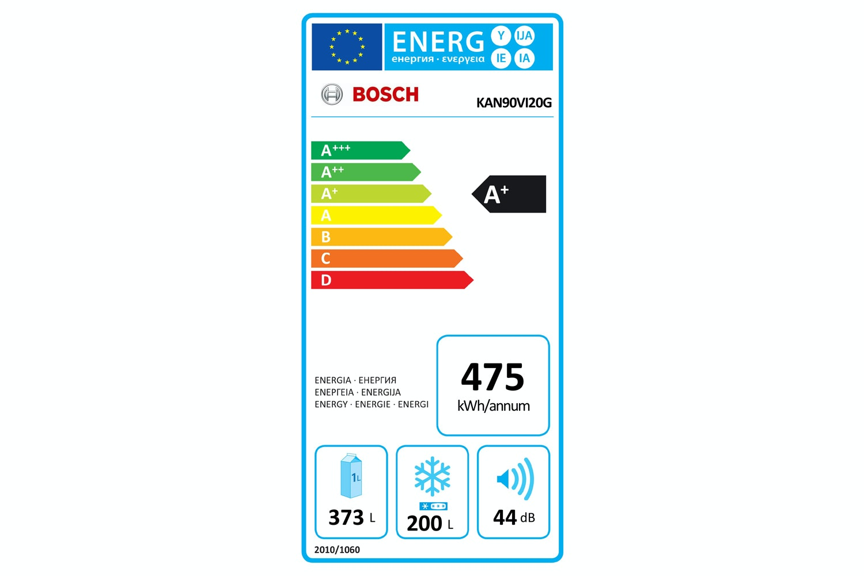 Bosch Series 4 Side by Side Fridge Freezer   KAN90VI20G