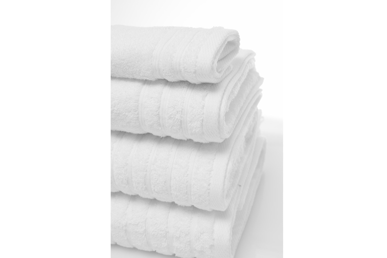The Linen Room Towels Bath Towel | White