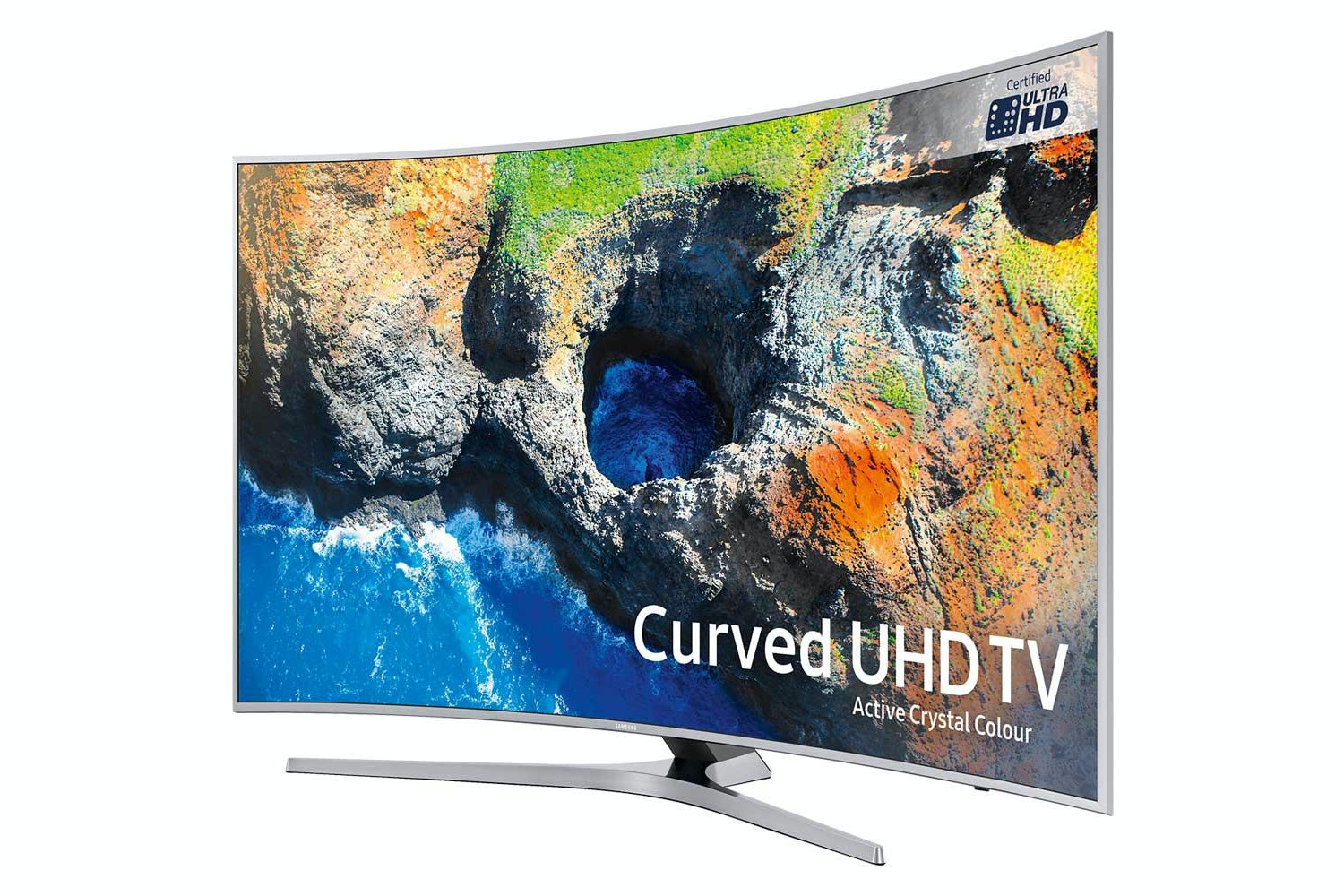 "Samsung 65"" Curved UHD Smart LED TV 