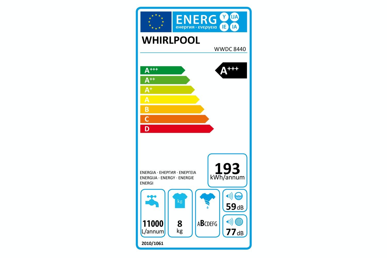 Whirlpool 8kg Washing Machine | WWDC8440