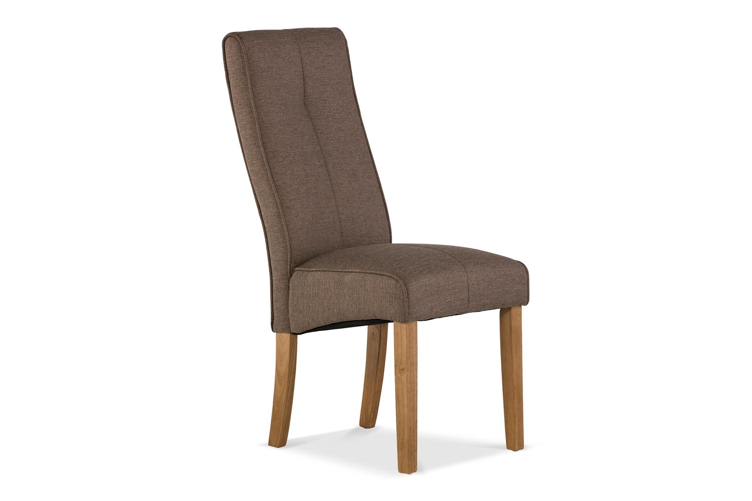 Mabel Dining Chair | Oak Leg |  Taupe