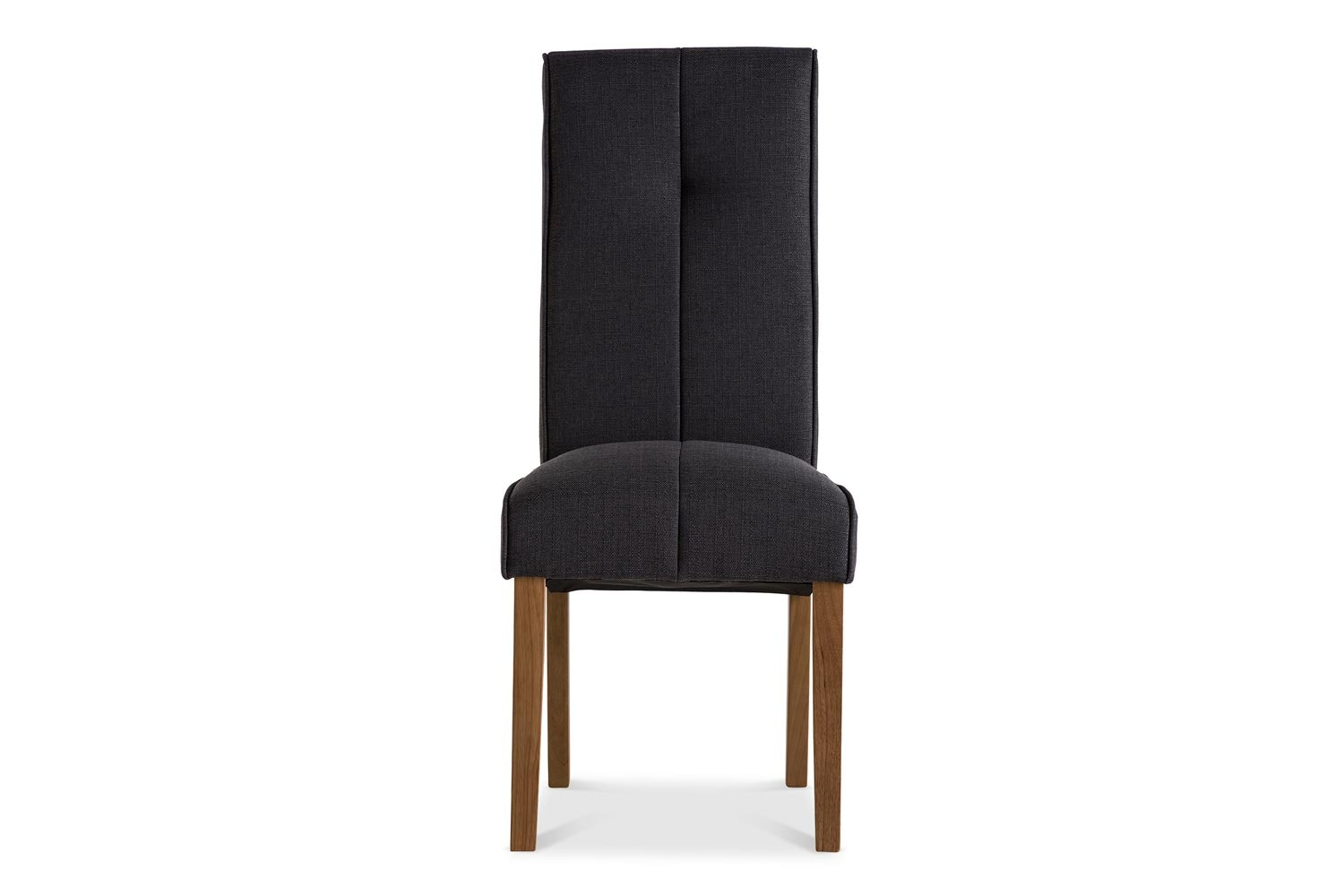 Mabel Dining Chair | Oak Leg | Black
