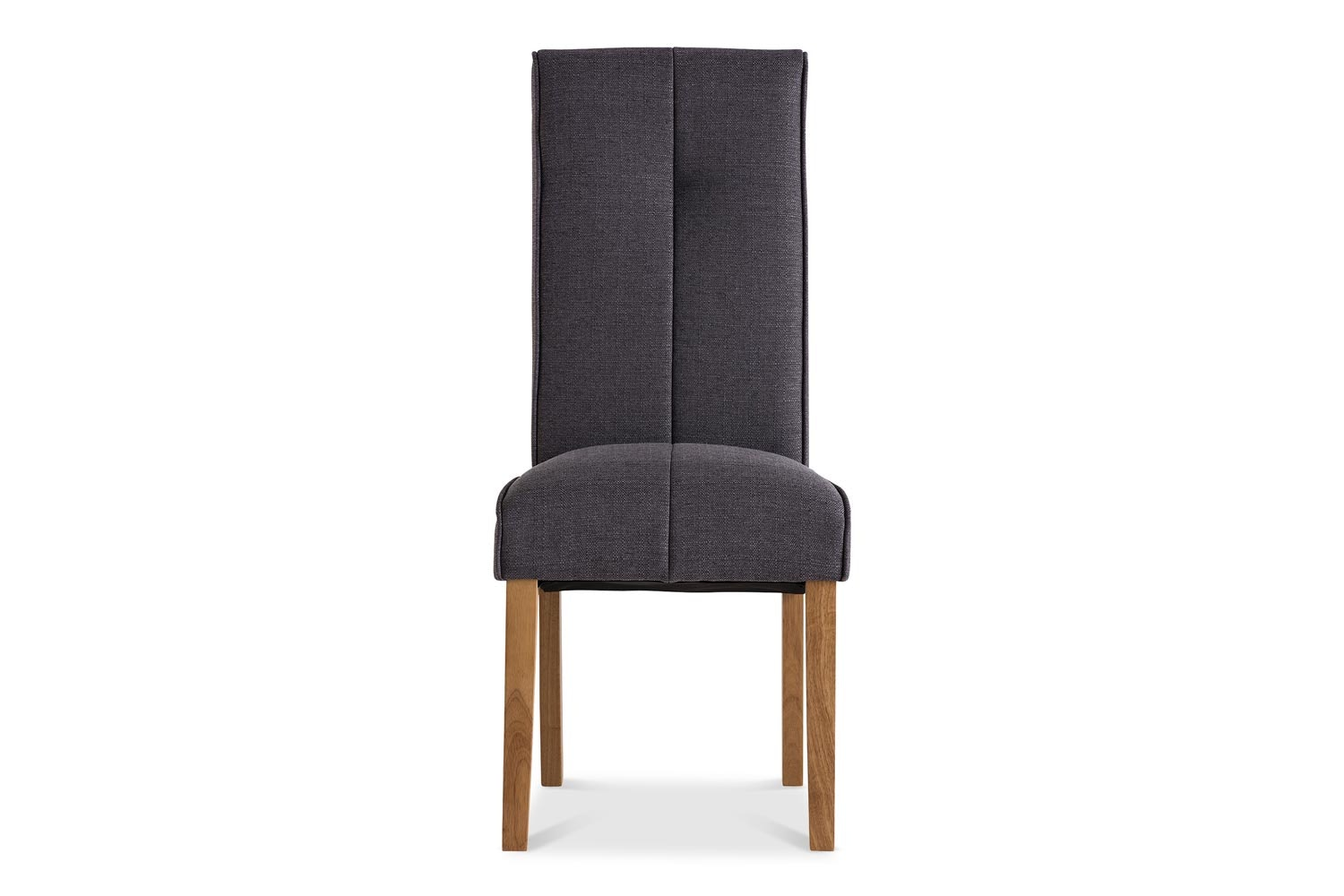 Mabel Dining Chair | Oak Leg | Grey
