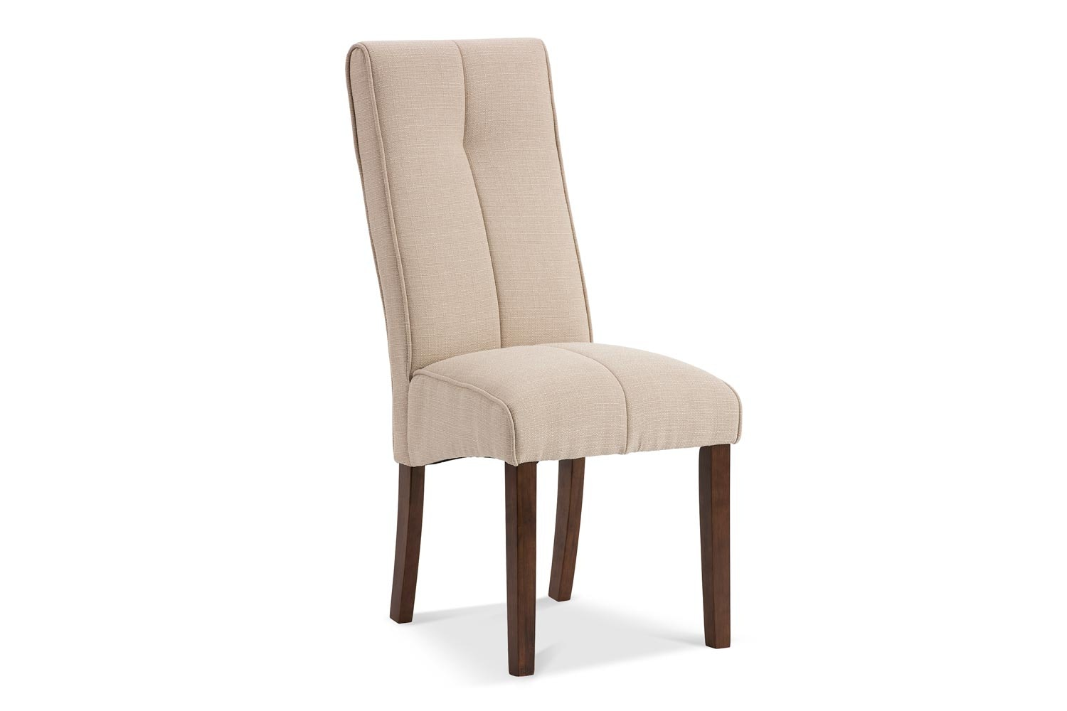 Mabel Dining Chair | Dark Leg | Natural